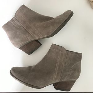 Blondo Brown Ankle Booties